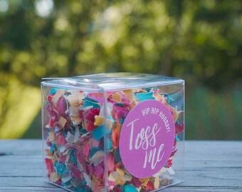 Wedding Confetti Boxes // Funfetti