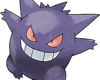Pokemon Gengar Sticker