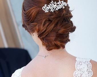 Crystal Wedding Hair comb Crystal Bridal comb Bridal Crystal comb Rhinestone Hair comb Wedding comb Rhinestone headpiece  Bridal accessories