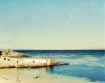 landscape photography // beach landscape art // beach art print - Lover's Point,  landscape photography art print