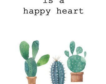 A Happy Plant is a Happy Heart