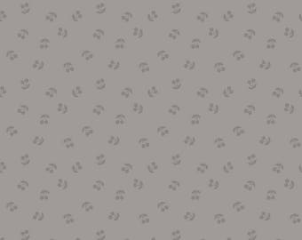 Cherries Gray Tone on Tone - Riley Blake Designs - Grey Fruit Food - Quilting Cotton Fabric - choose your cut