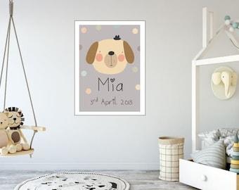 Spotty Dog  (A3 size)