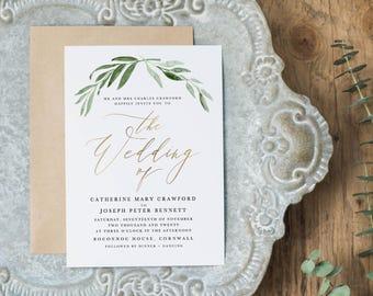 Editable Wedding Invitation Template, Printable Wedding Invitation, Wedding Invitation Printable, Wedding Invitation Download - KPC11_102