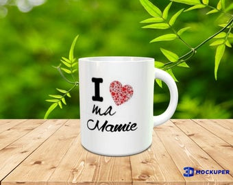 original mug to offer / sAINT-vALENTIN / Come on we love each other (but like all life)