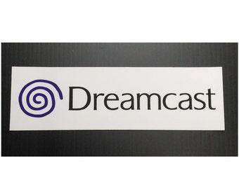 Sega Dreamcast Logo Sticker decal