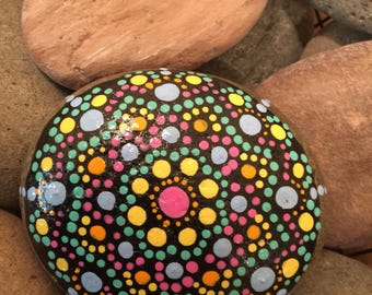 Handmade Painted Rock - Paperweight, Decoration, Easter Rock