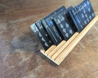 Playing Card Holders (set of 8)
