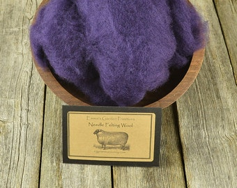 Needle Felting Wool - Concord - Wet Felting Wool- C1