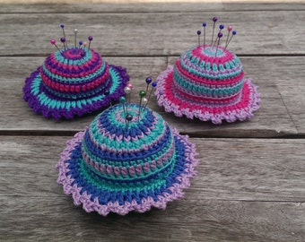 Crochet Pincushion Pattern - Tutorial PDF by Atelier Sopra
