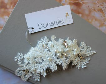 Bridal hair comb , Wedding hair piece , Bridal headpiece, Bridal hair piece  ,Wedding hair accessories, Bridal comb, Wedding comb