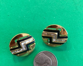 Clip on Trifari earrings