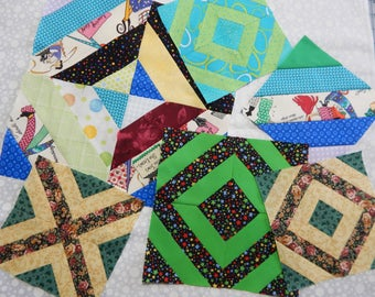 ITH Quilt Block in 3 Sizes