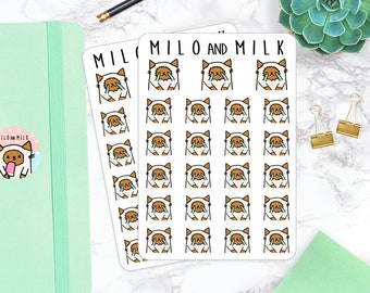 Crying Upset Cats | Planner Stickers |