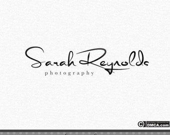 Premade Signature Logo, Photography Logo, Photography Watermark, Photographer Logo, Elegant Logo, Handwriting Logo, Simple Logo, Logo Design