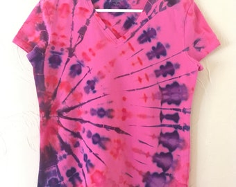 Tie-dye t-shirt- lady's medium