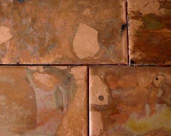 Copper Ceramic Tiles