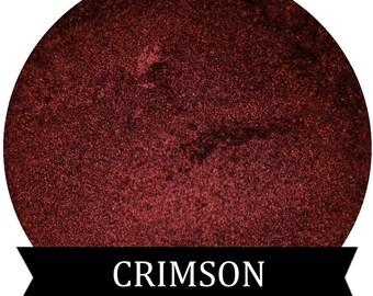 CRIMSON Metallic Red Eyeshadow