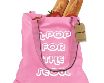 K-Pop For The Seoul Shopping Tote Bag