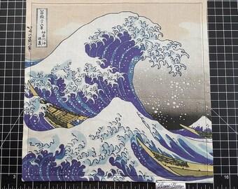 The Great Wave off Kanagawa Handkerchief