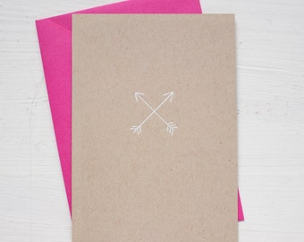 ARROWS folded notecards