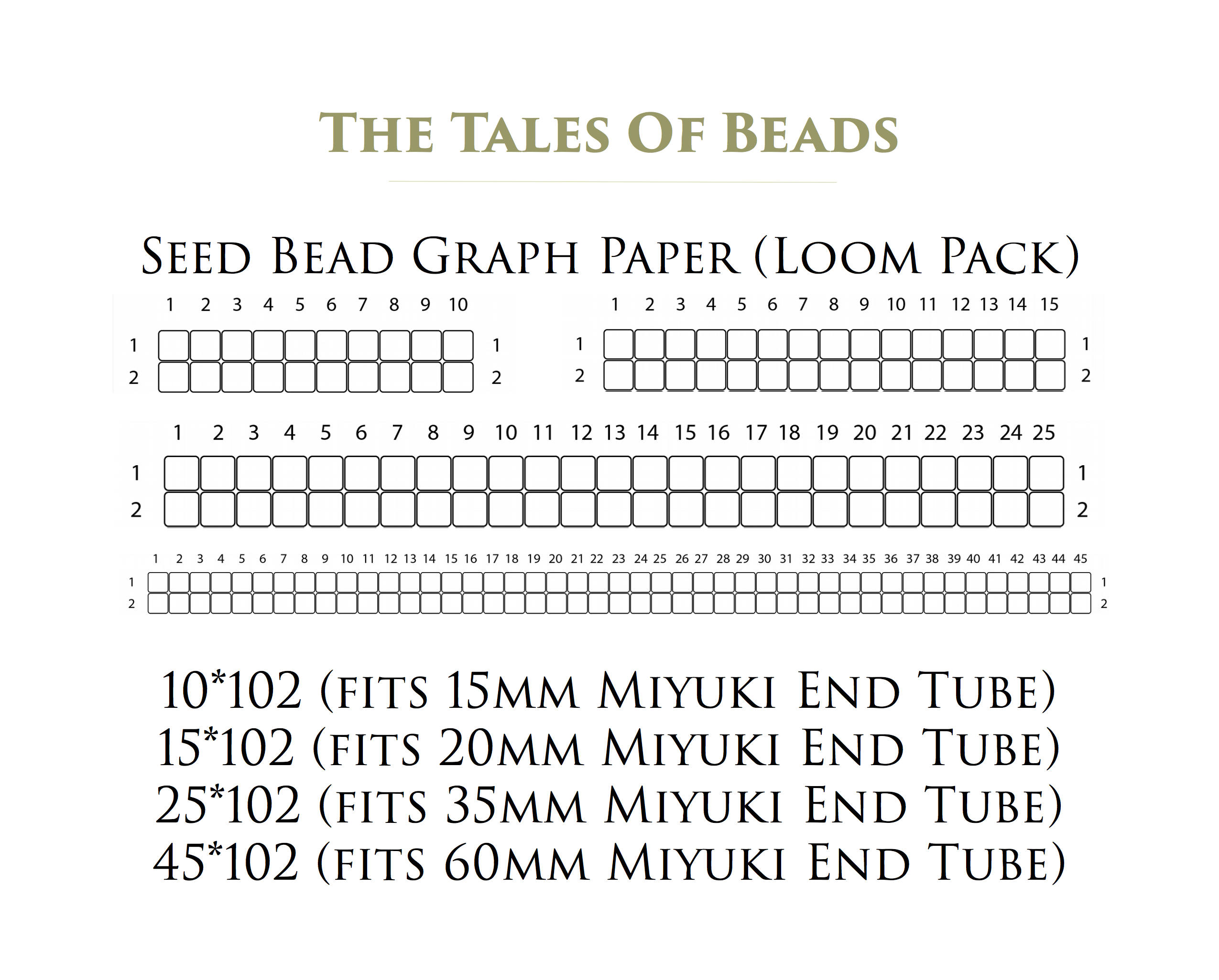 seed bead graph paper - Ecza.solinf.co