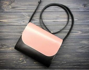 Leather Cross Body Bag, Leather satchel women, Leather Small Crossbody bags, Leather Crossbody, Leather Shoulder bag, Everyday Bag Womens