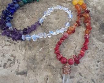 7 Chakara Necklace