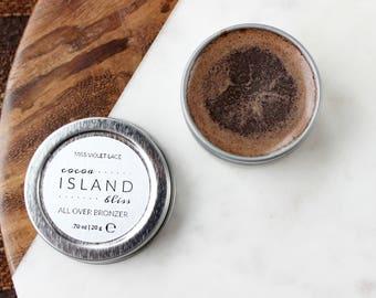 Cocoa Bronzer SAMPLE | All Over Bronzer | 100% natural + vegan