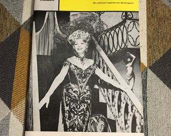 Vintage 1966 Hello Dolly Playbill Shubert Theatre Chicago Broadway Betty Grable