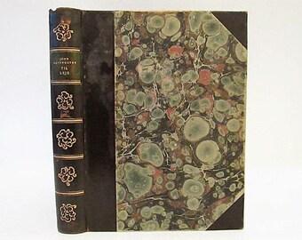 Vintage 1932 Til Leje by John Galsworthy Decorative Hardcover Book MCMXXXII Danish Foreign Language Gyldendalske Boghandel 'For Rent'