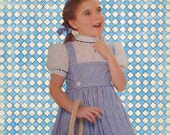 Girls Wizard of Oz Dorothy Dress Ready to Ship