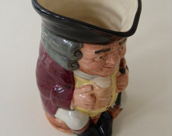 Vintage Royal Doulton Character Toby Jug Jolly Toby Made in England