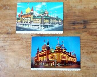 World's Only Corn Palace Postcards