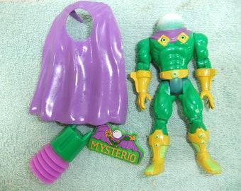 Vintage Spiderman Mysterio Action Figure - 1995  Spiderman Mysterio Complete