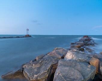 coastal landscape photography, jetty, storm, noreaster, fine art photography, martha's vineyard, oak bluffs