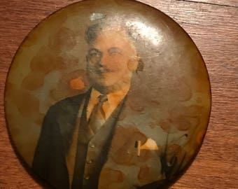 Vintage Mirror with Picture