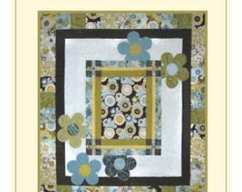 SALE - Pop Art Quilt Pattern - Applique
