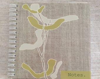 Climbing Stem Plain Notebook