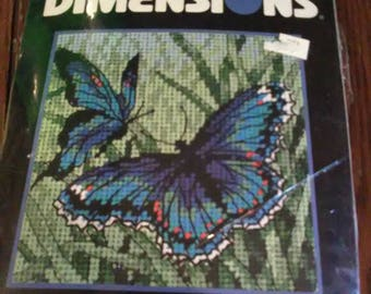 "Needlepoint Kit ""Butterfly Duo"""