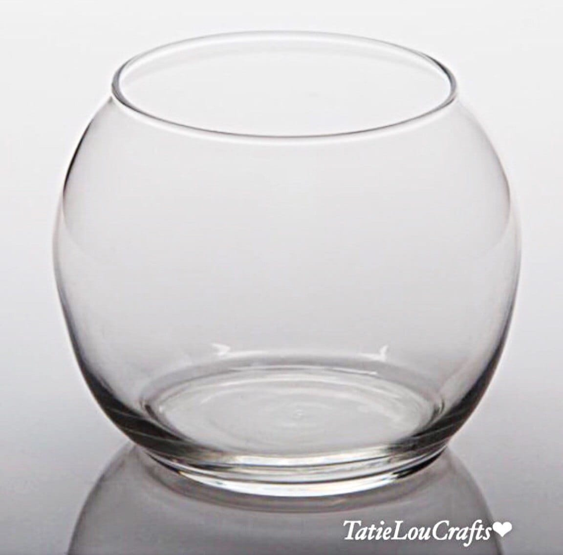Glass bubble ball vase 8 inch fish bowl terrariumplanter zoom reviewsmspy