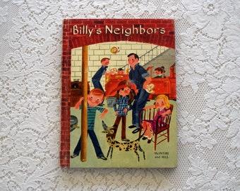 Vintage Children's Text Book- Billy's Neighbors