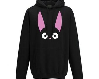 Jiji - Kiki's delivery service Studio Ghibli hoodie