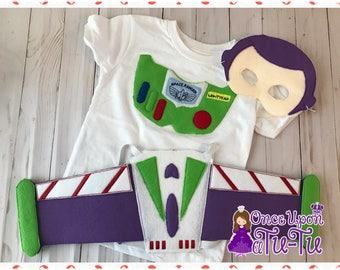Buzz lightyear playset. Buzz shirt. Buzz applique shirt. Buzz wings. Buzz costume. Buzz birthday. Buzz dress up. Buzz mask. Buzz set.