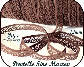 FINE Royal SCRAPBOOKING sewing lace BRAID LOT card SCRAP 12mm