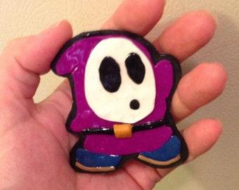 Purple Shy Guy Magnet