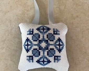 Snowflake ornament #1