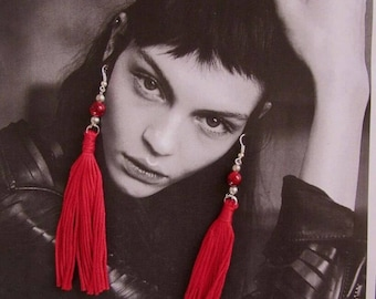 Hannah Tassle Earrings