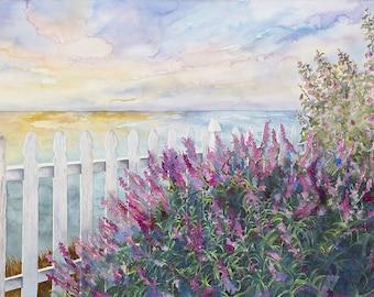 California Sunset 11x14 Giclee Print - Clearance