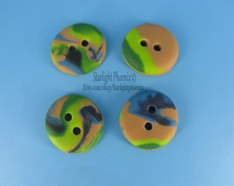 Button, Buttons, Polymer Clay Buttons, Craft Supplies, Sewing Supplies, Knitting Supplies, Sewing, Knitting, Crochet, Handcrafted Buttons
